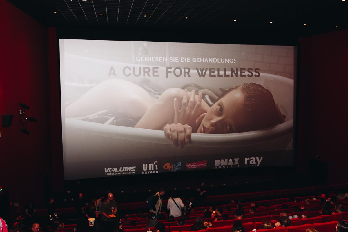 Volume Filmpremiere: A Cure For Wellness @ Hollywood Megaplex Gasometer Wien