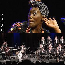 Lungau Big Band feat. Chanda Rule - Sapphire Dreams am 3. April 2020 @ Jazzit Salzburg.