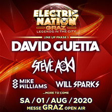 Kronehit Electric Nation Graz - Aftershow Party am 1. August 2020 @ Messehalle A.
