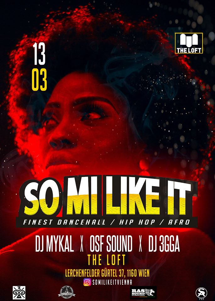 SO MI LIKE IT am 13. March 2020 @ The Loft.