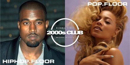 2000s Club mit Hip-Hop-Floor