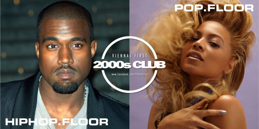 2000s Club mit Hip-Hop-Floor