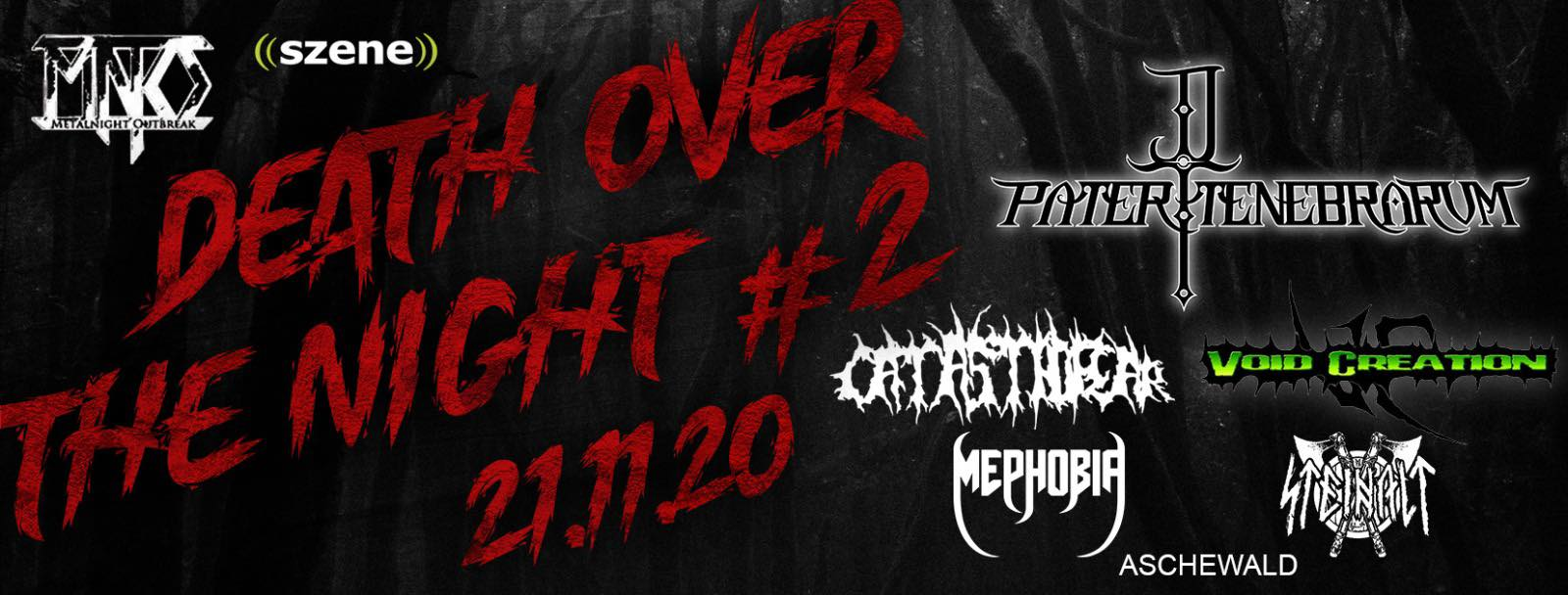 Death Over The Night #2 am 21. November 2020 @ Simm City.