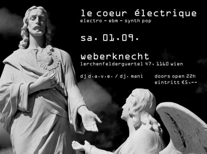 Le Coeur Électrique am 1. September 2018 @ Weberknecht.