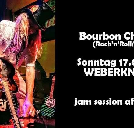 Bourbon Cheeseus + Open Live Session