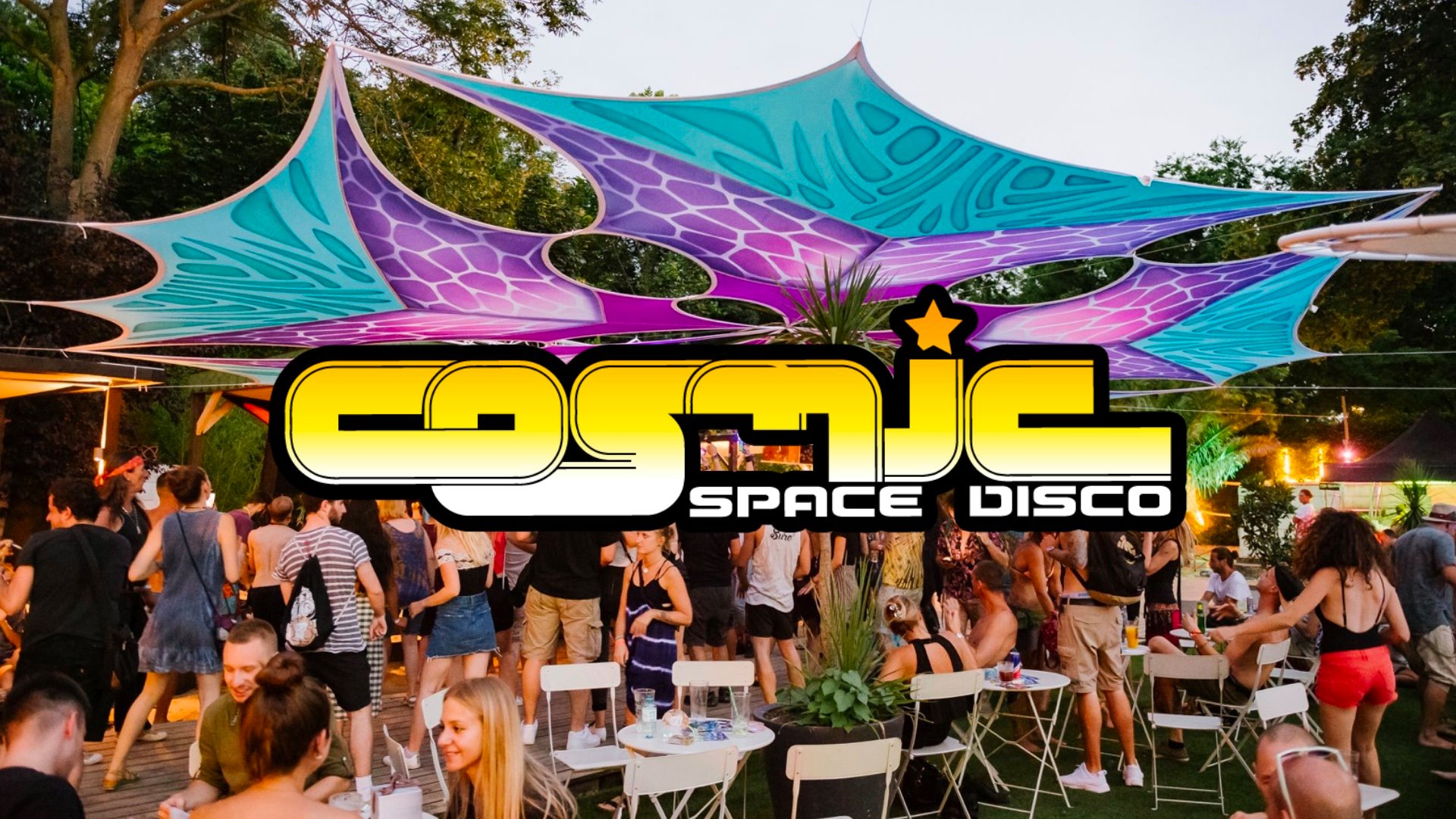 Cosmic Space Disco Pool Party am 13. August 2021 @ Pratersauna.