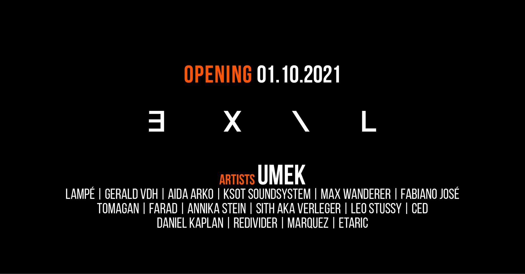 EXIL - Grand Opening am 1. October 2021 @ EXIL.