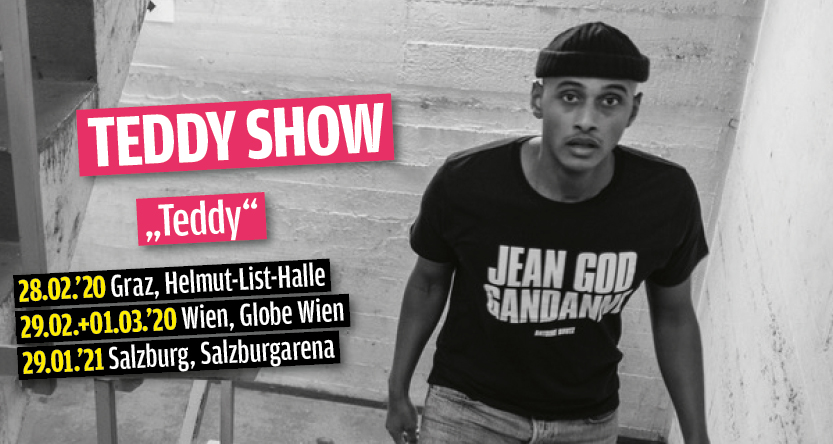 Teddy Show: Teddy am 29. January 2021 @ Salzburgarena.