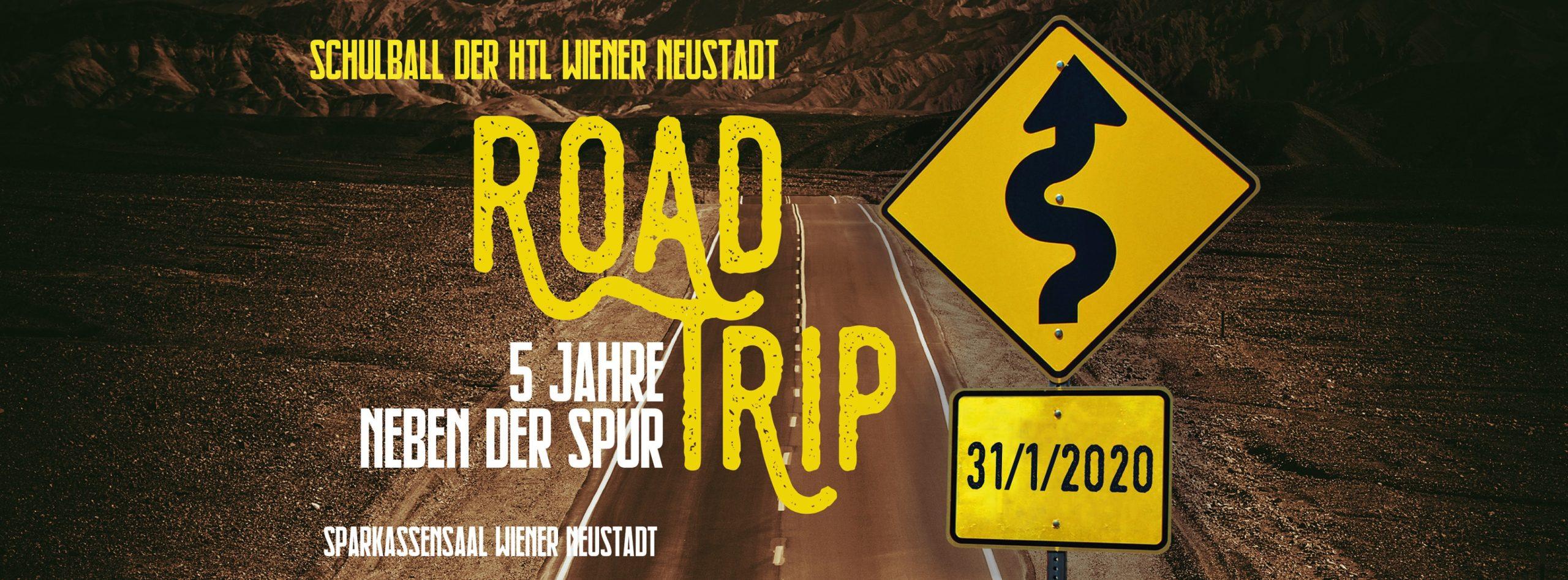 Roadtrip | Schulball der HTL Wr.Neustadt am 31. January 2020 @ Sparkassensaal Wiener Neustadt.