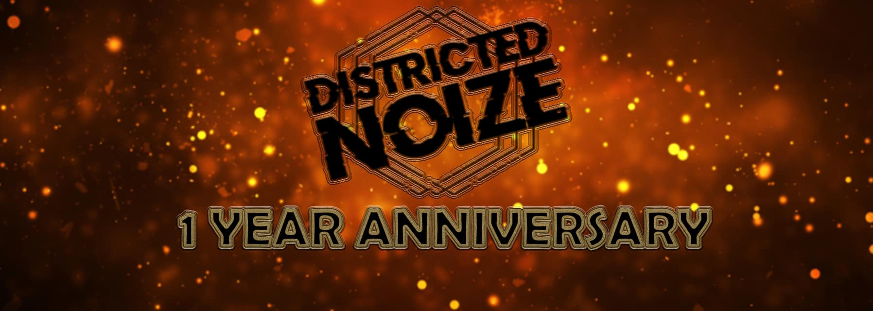 Districted Noize pres. 1 year anniversary am 17. January 2020 @ Black Market.