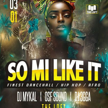 Vienna Dancehall Events‎So Mi Like It - Finest Dancehall, Hip Hop & Afro