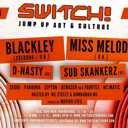 Switch! feat. Blackley, Miss Melody, D-Nasty, Sub Skankerz