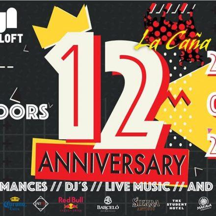 La CAÑA 12 Anniversary (4 Floors)