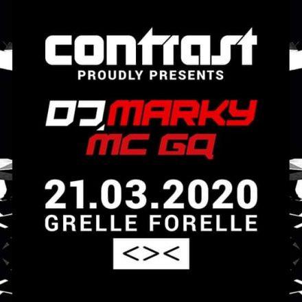CONTRAST presents DJ MARKY & MC GQ