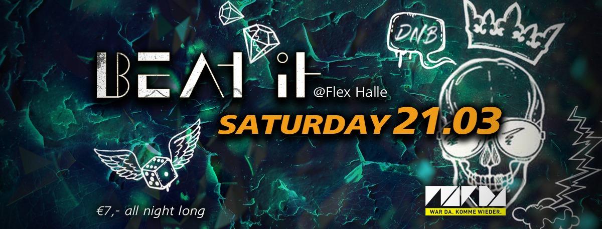 Beat It am 21. March 2020 @ Flex - Halle.