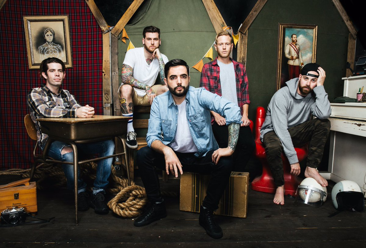 A Day To Remember am 10. May 2020 @ Planet.tt Bank Austria Halle im Gasometer.