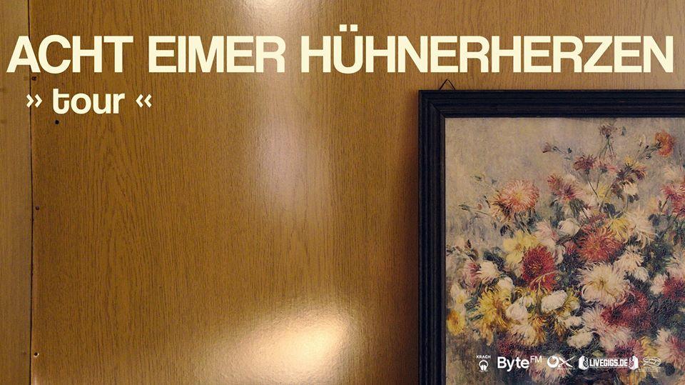 Acht Eimer Hühnerherzen am 6. December 2020 @ Rhiz.