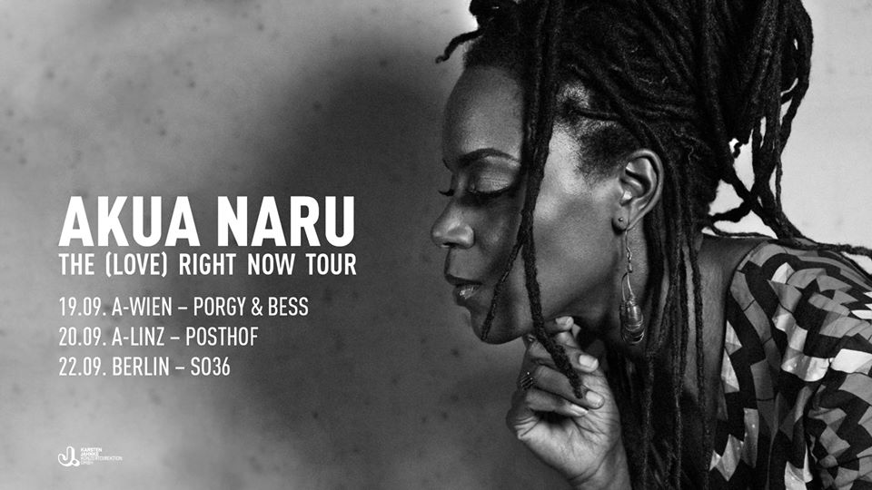 Akua Naru am 20. September 2020 @ POSTHOF - Kleiner Saal.