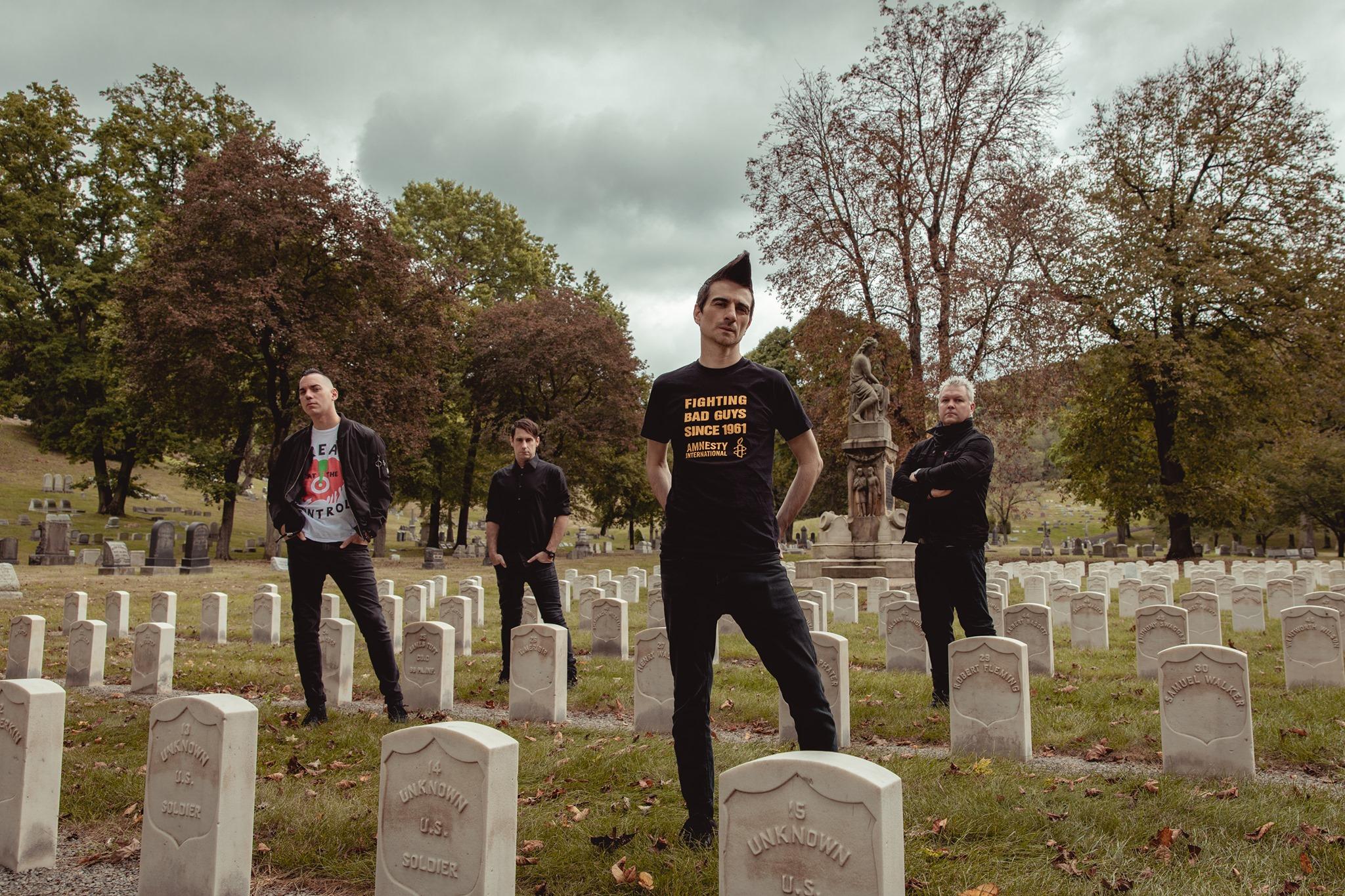 Anti-Flag am 1. July 2020 @ Rockhouse Salzburg - Saal.