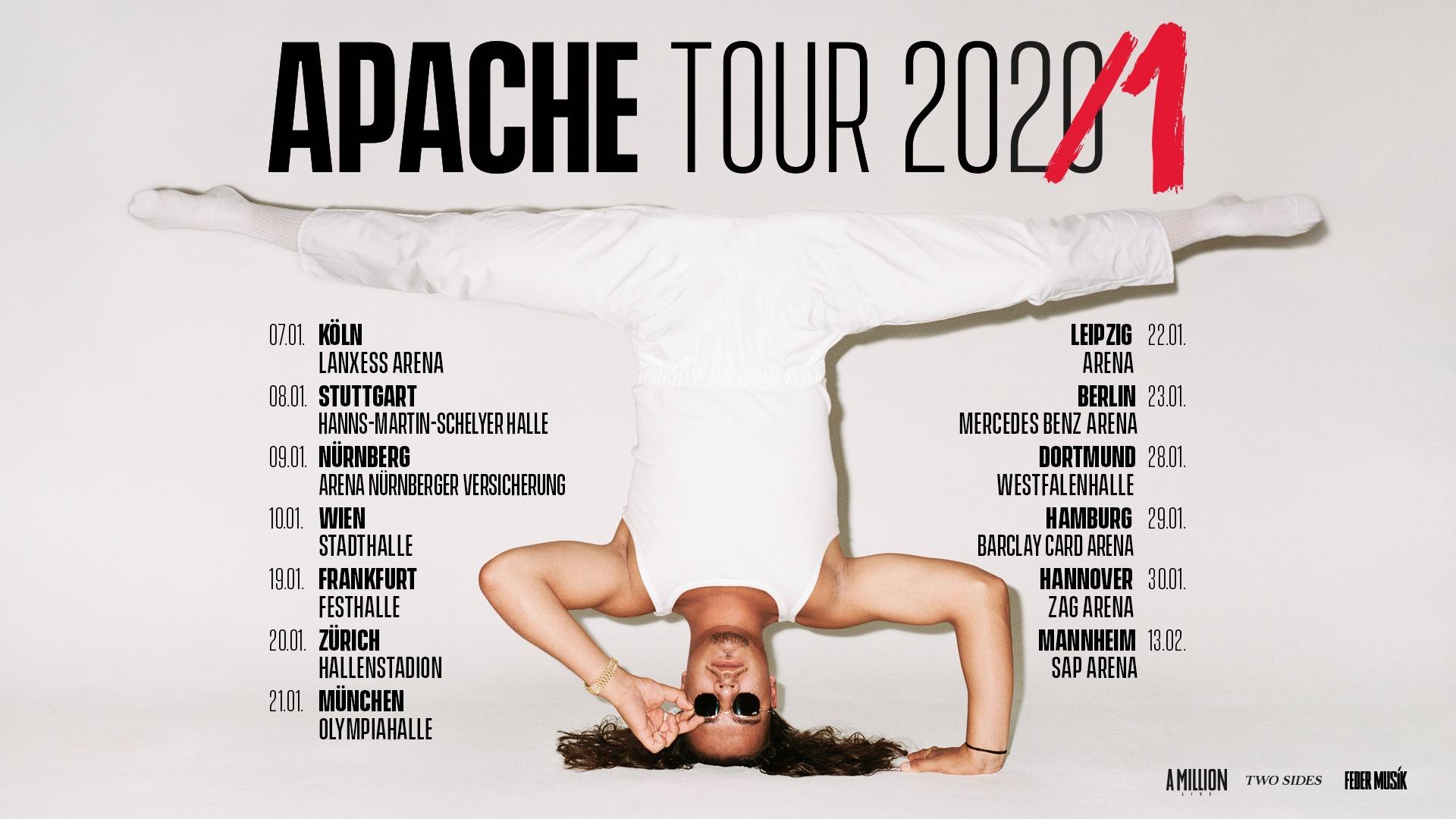 Apache 207 am 10. January 2021 @ Wiener Stadthalle - Halle D.