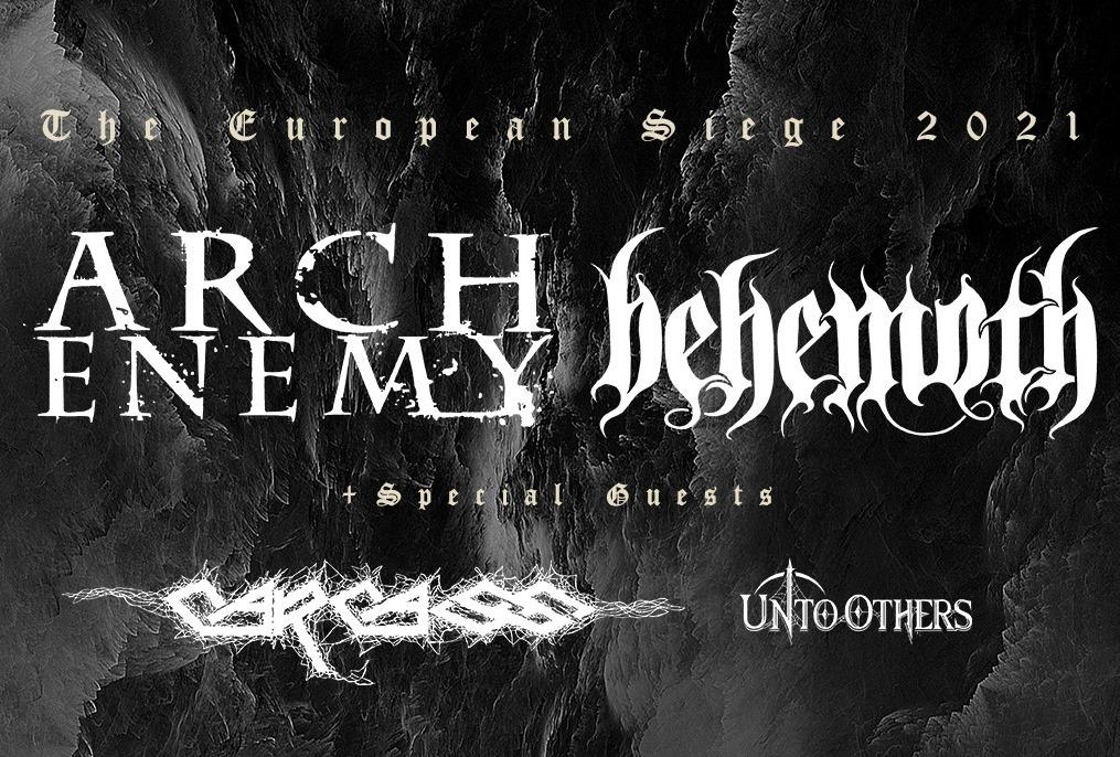 Arch Enemy am 20. October 2021 @ Planet.tt Bank Austria Halle im Gasometer.