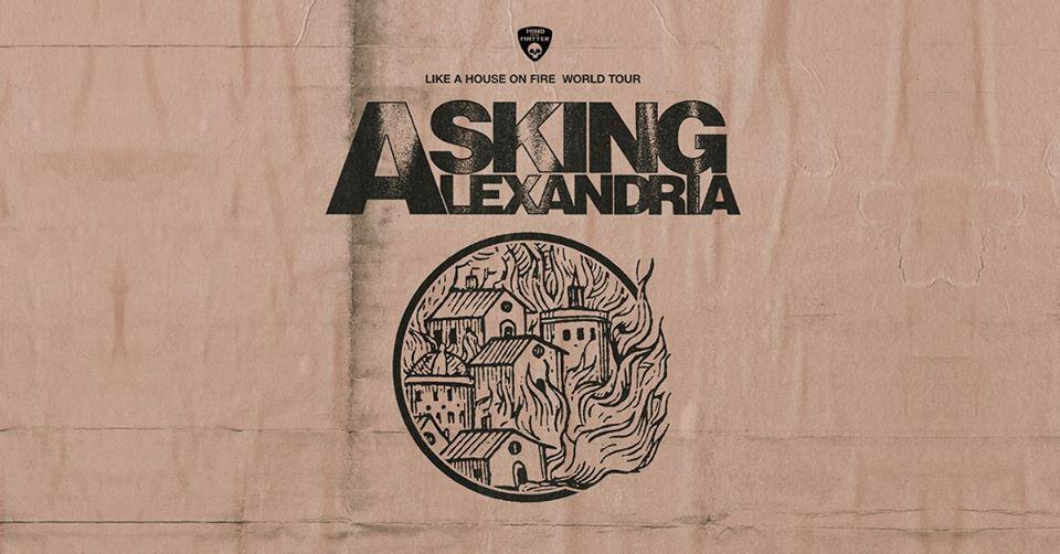 Asking Alexandria am 7. November 2020 @ Ottakringer Brauerei.