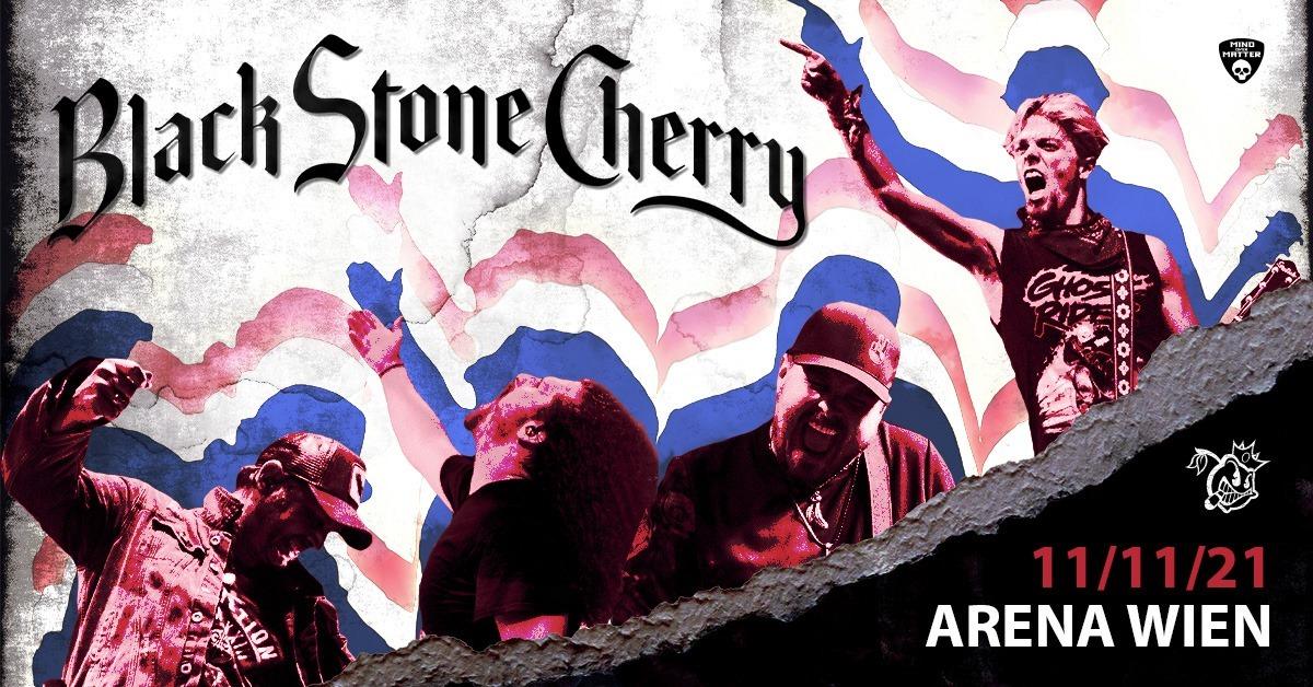 Black Stone Cherry am 11. November 2021 @ Arena Wien - Große Halle.