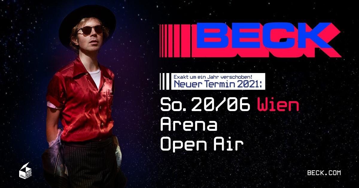 Beck am 20. June 2020 @ Arena Wien - Open Air.