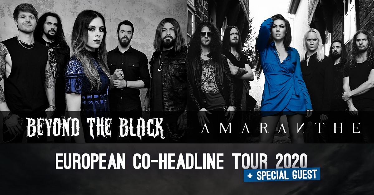 Beyond The Black am 7. December 2020 @ Arena Wien - Große Halle.