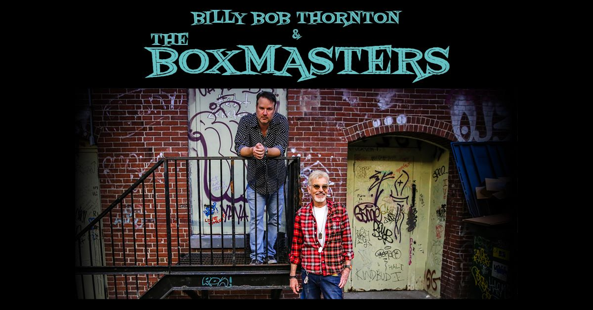 Billy Bob Thornton & the Boxmasters am 6. September 2020 @ Porgy & Bess.