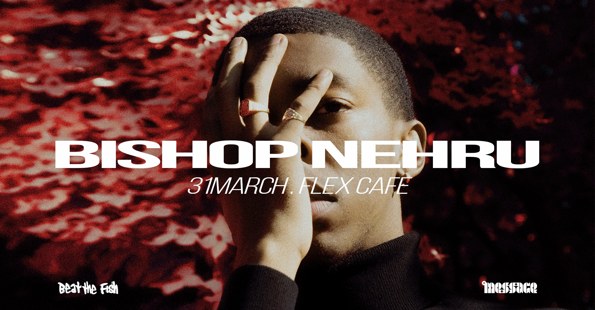 Bishop Nehru am 31. March 2020 @ Flex - Café.