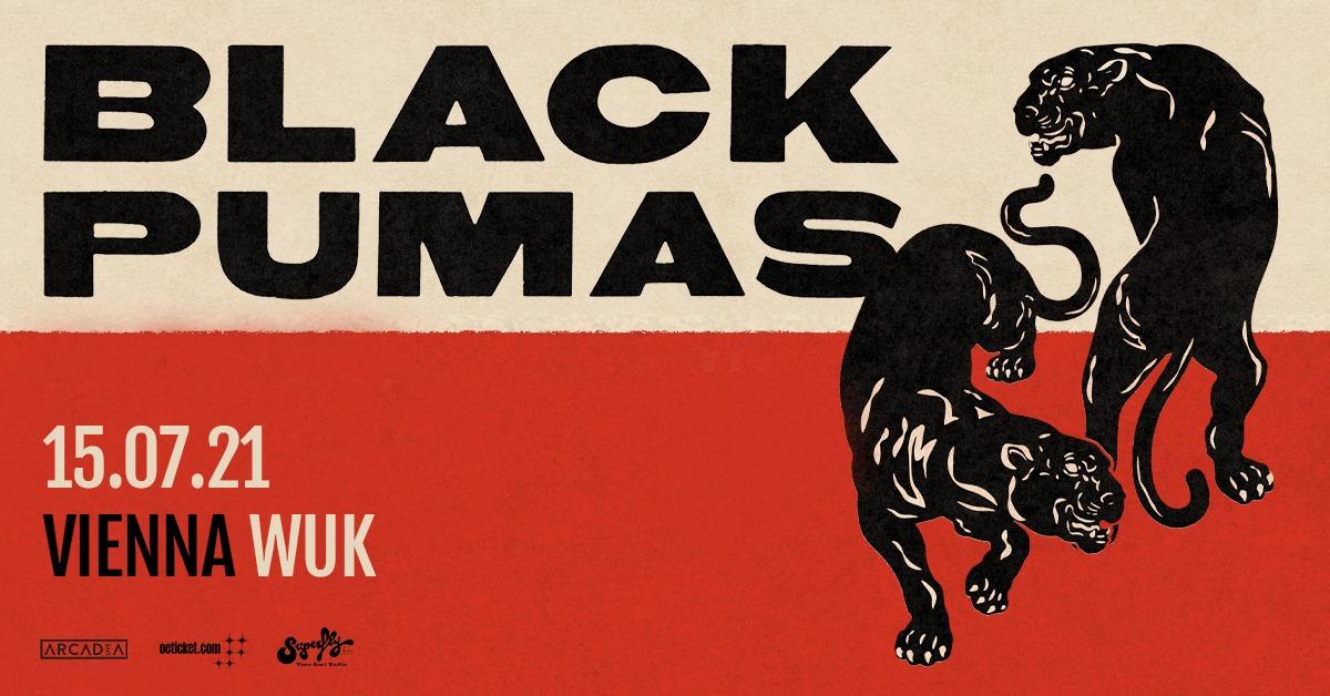 Black Pumas am 15. July 2021 @ WUK.