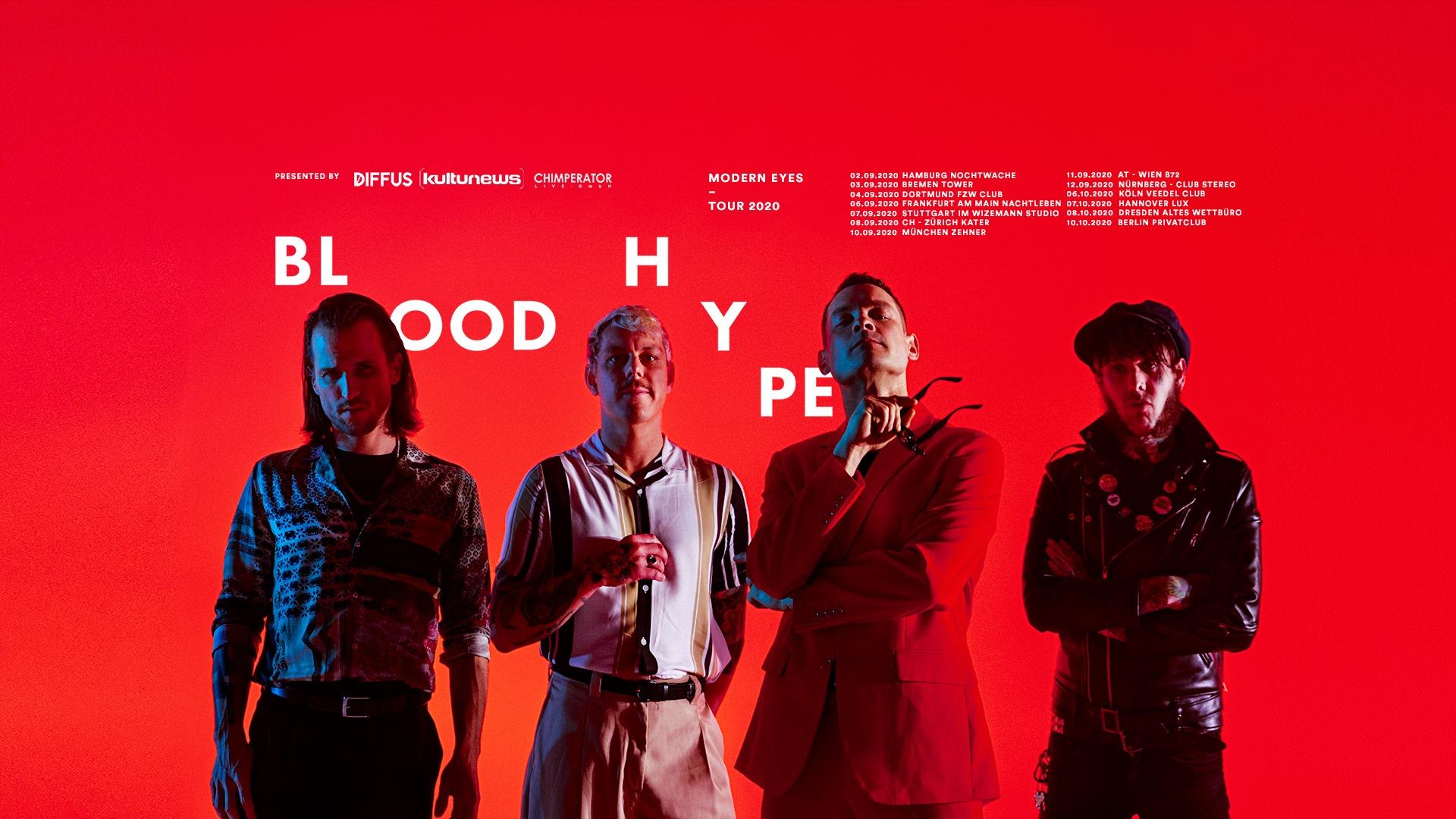 Bloodhype am 11. September 2020 @ B72.
