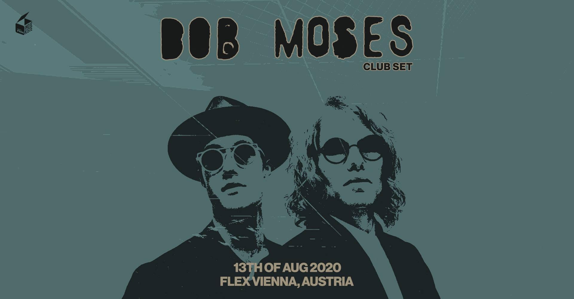 Bob Moses am 13. August 2020 @ Flex - Halle.