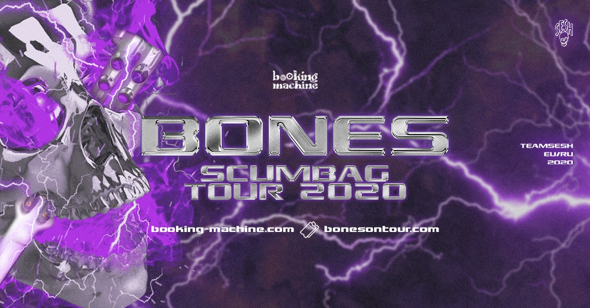 Bones am 12. May 2020 @ Simm City.