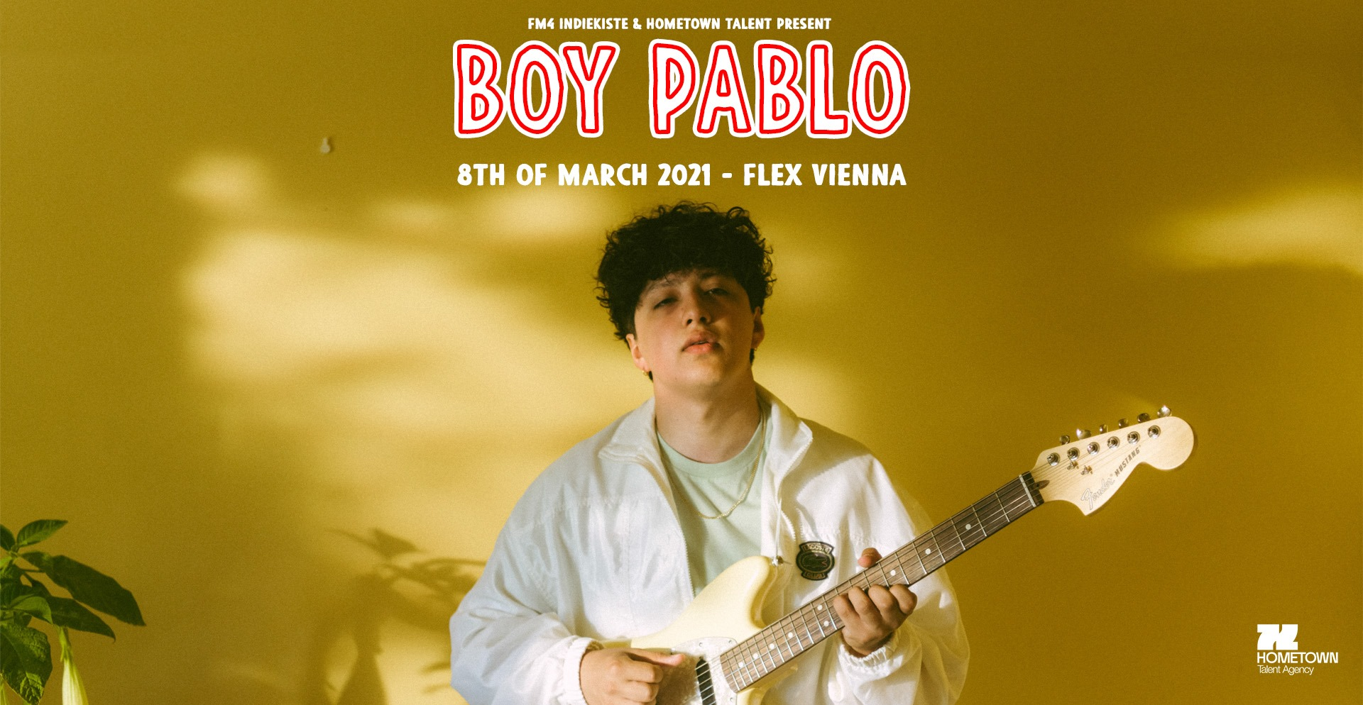 Boy Pablo am 8. March 2021 @ Flex - Halle.