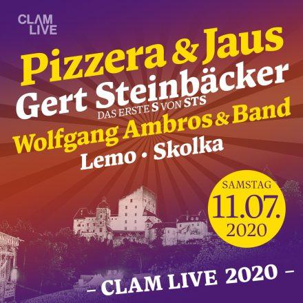 Pizzera & Jaus, Gert Steinbäcker, Wolfgang Ambros und Band