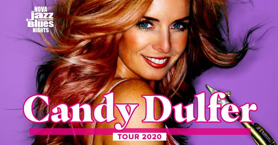 Candy Dulfer am 14. October 2020 @ POSTHOF - Großer Saal.