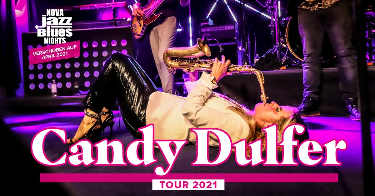 Candy Dulfer am 13. October 2020 @ WUK.