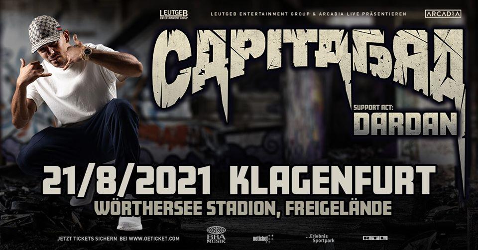 Capital Bra am 9. January 2021 @ Wörthersee-Stadion Freigelände.