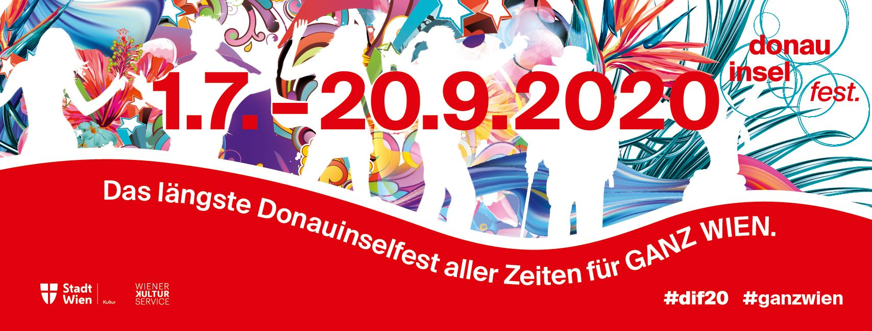Donauinselfest 2020 am 1. July 2020 @ Diverse Locations.