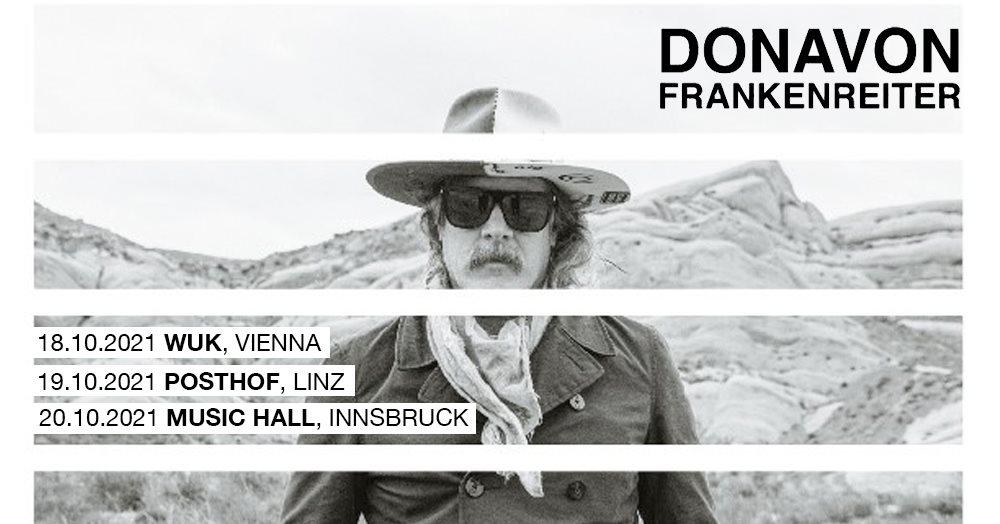 Donavon Frankenreiter am 18. October 2021 @ WUK.