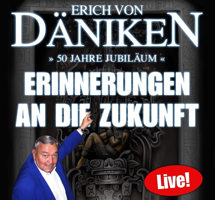 ERICH von DÄNIKEN am 3. March 2020 @ Simm City.