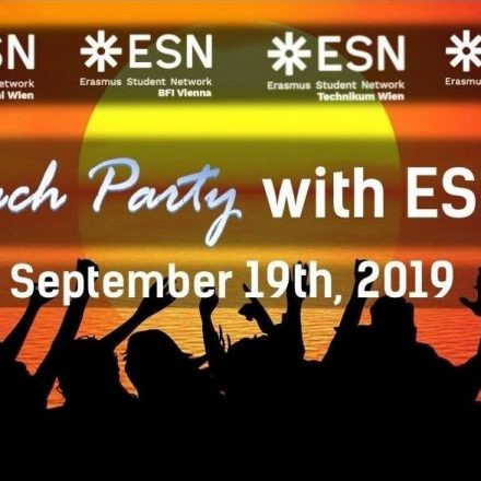 Beach Party with ESN