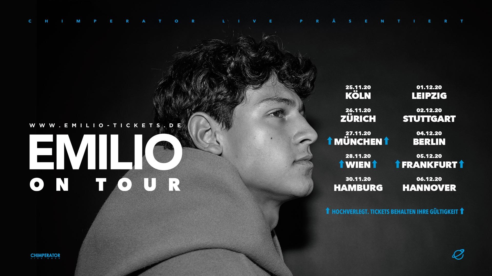 Emilio am 28. November 2020 @ Flex - Halle.
