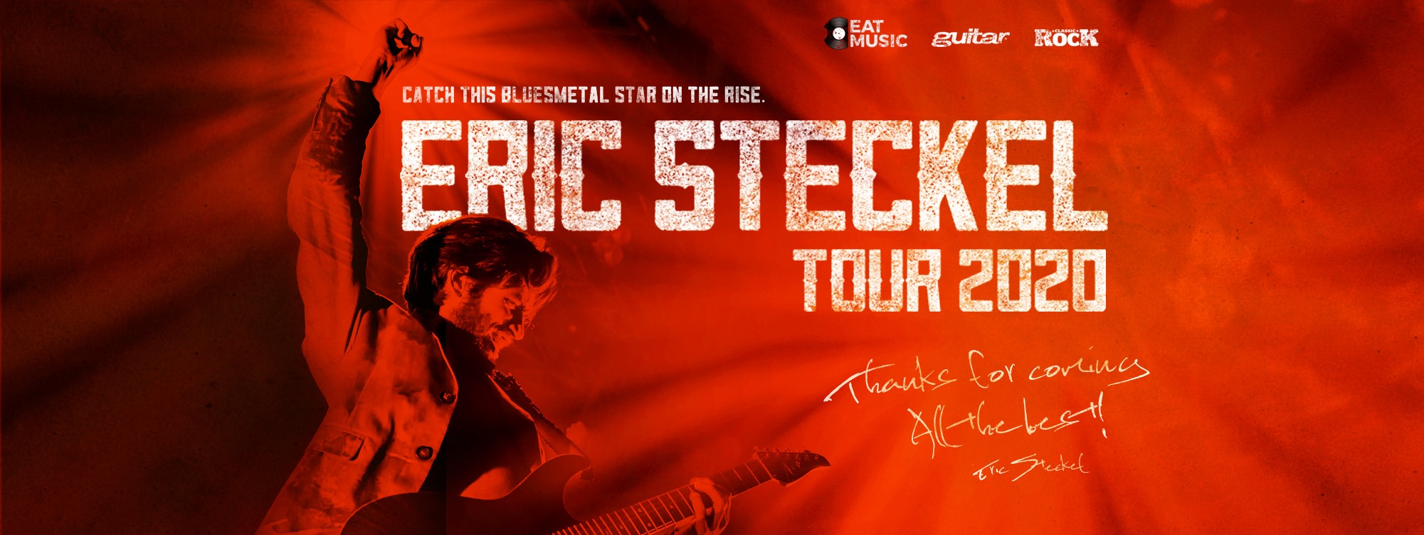 Eric Steckel am 30. March 2020 @ Rockhouse Salzburg - Bar.