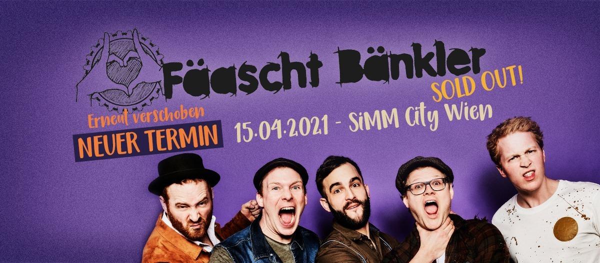 Fäaschtbänkler am 16. April 2020 @ Szene Wien.