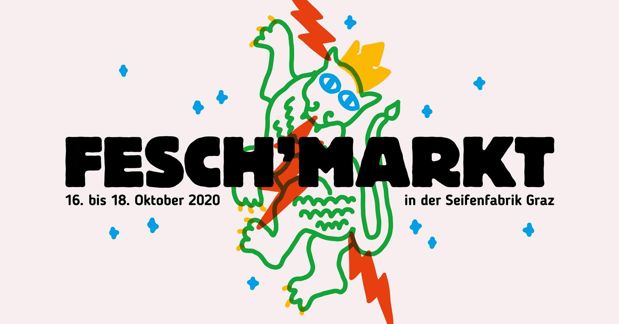 Fesch'markt Graz #14 am 16. October 2020 @ Seifenfabrik/Fachwerkhalle.