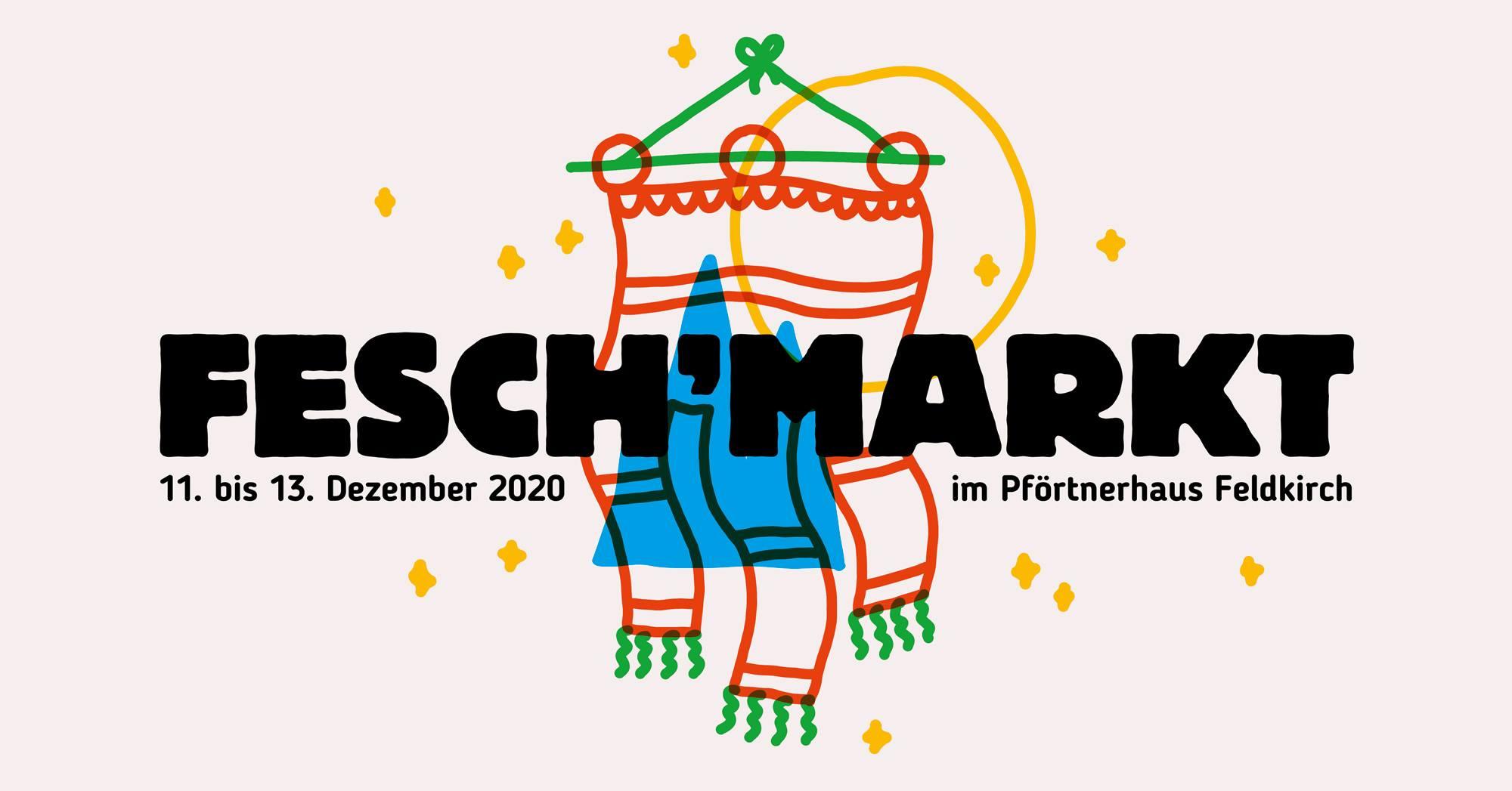 Fesch'markt Vorarlberg #11 am 11. December 2020 @ Pförtnerhaus Feldkirch.