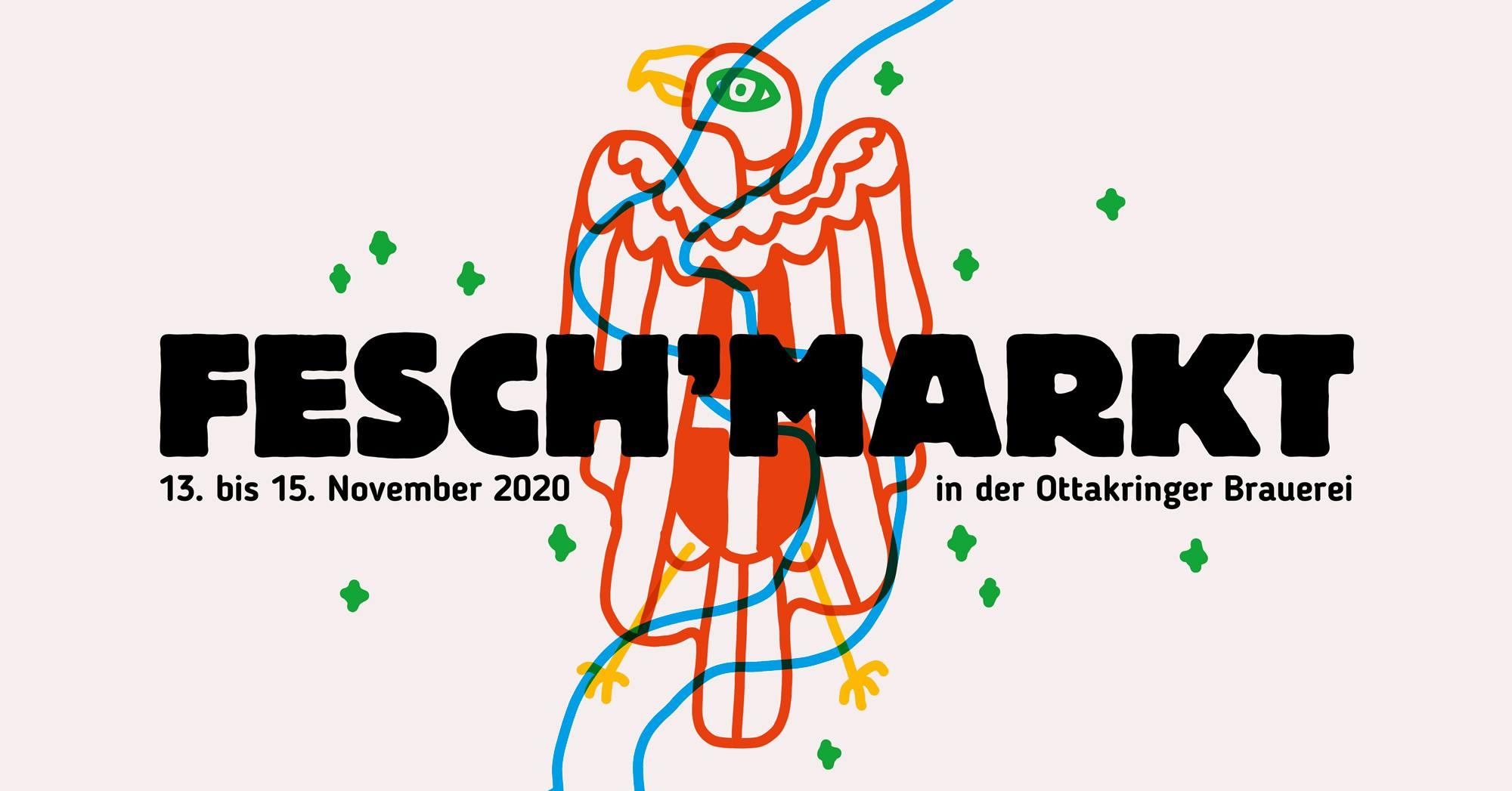 Fesch'markt Wien #21 am 13. November 2020 @ Ottakringer Brauerei.